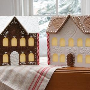 Gingerhaus Gingerbread House Baking Kits & Springerle Molds Manor