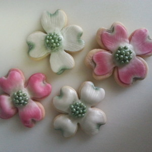 Dogwood Flower Cookies 1