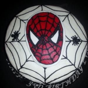 Evan's Spiderman Cake-3yrs old