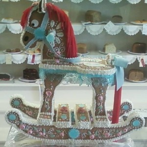 Rocking Horse Sugar Decor