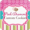 Pink Diamond Custom Cookies