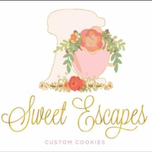 Sweet Escapes Custom Cookies