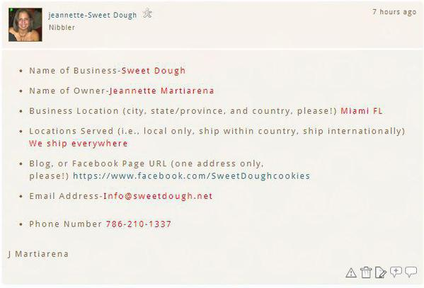 SweetDoughInfo