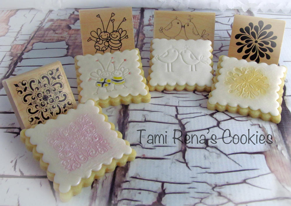 Rubber Stamping Cookie Connection