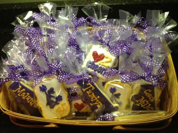 ECMC Cheer Cookies Packaged
