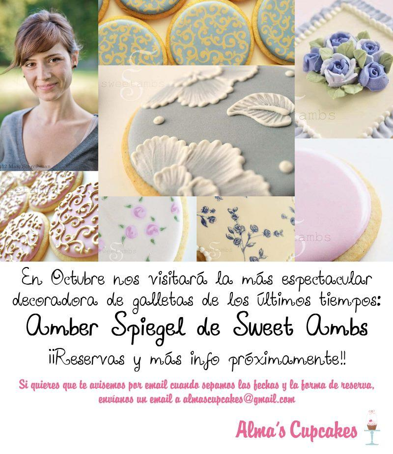 Master Cookie Decorating Classes with SweetAmbs in Madrid