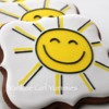 Happy Sun Cookies: By Yankee Girl Yummies