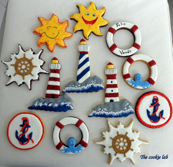 Summer Nautical Theme - The Cookie Lab -5