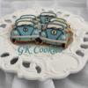 Racing Beetles (as in The Cars): By GK Cookies