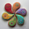 Paisley Flower: By Art & Honey