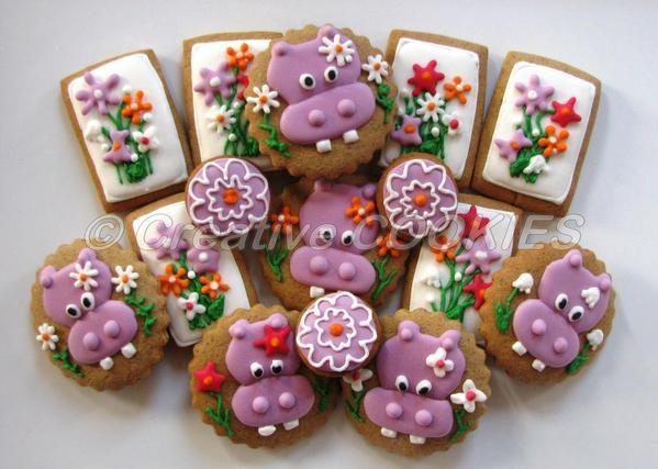Spring Hippos - Creative Cookies Belgrade - 8