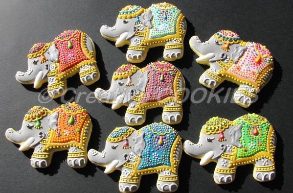 Elephants - Creative Cookies Belgrade - 9