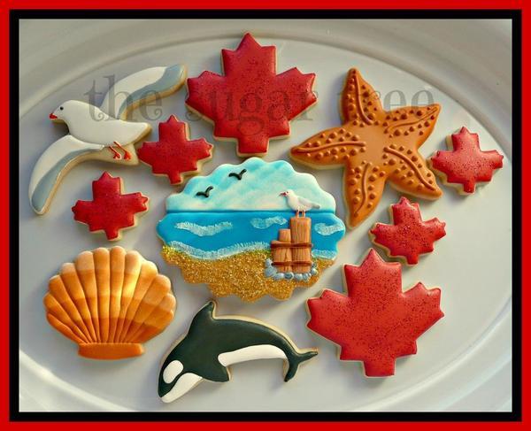 Celebrating Canada Day West Coast Style by Sherrene - The Sugar Tree -2