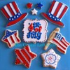 Fourth Of July!: By Tricia Z of The Cookie Loft Girls