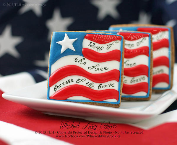The Land of the Free by Whisked Away Cookies - 4