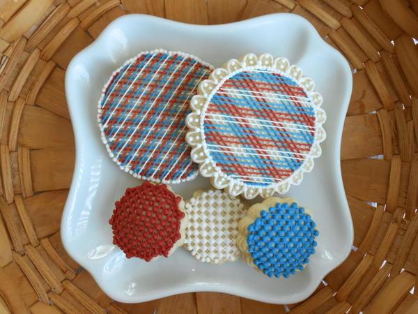 Patriotic Lace by Amy Clough'D 9 -6