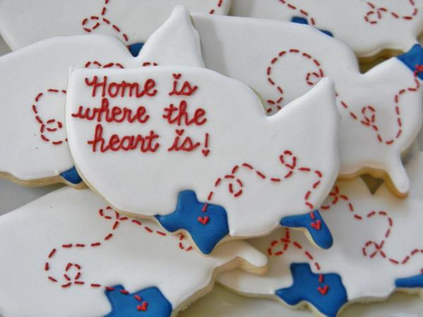 Home Is Where the Heart Is - Sweet Melissas Cookies -9