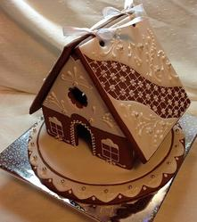 Wedding gingerbread house