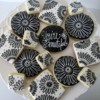 Black and White Cookies: Cookies and Photo by Shannon Harman, The Sweet Shop Cookie Company