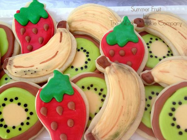 Wacky Cookies- Fruit Cookies