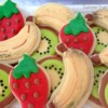 Fruit Cookies: Cookies and Photo by Aymee VanDyke, The Wacky Cookie Company