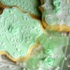 verde pastello, ricamo: verde pastello, ricamo