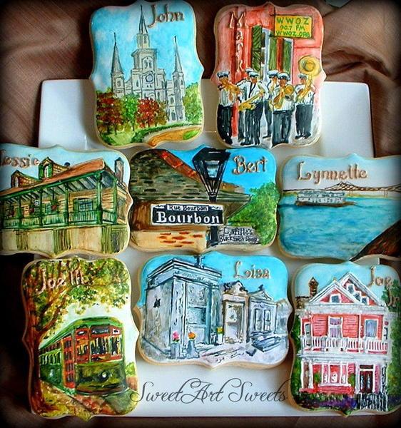 New Orleans Cookies by Elizabeth at SweetArt Sweets - 6