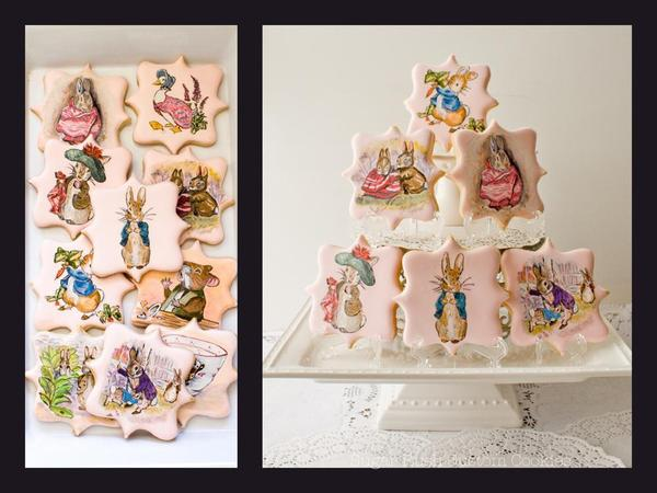Beatrix Potter-Themed Cookie Set