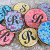 Finished Monograms - A Slightly Better View: Cookies and Photo by Julia M Usher