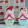 Matryoshka Dolls: By Patricia at Experimentos Con Azúcar