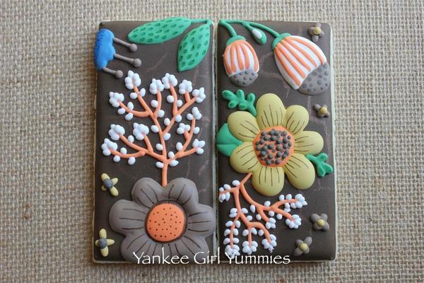 Helen Dardik-Inspired Flower Print - Fall - Yankee Girl Yummies