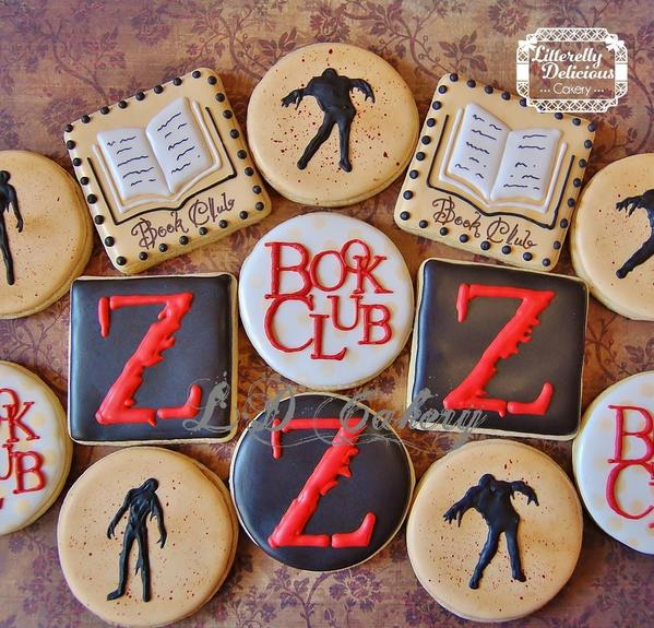 World War Z - Litterelly Delicious Cakery - Halloween and Horror