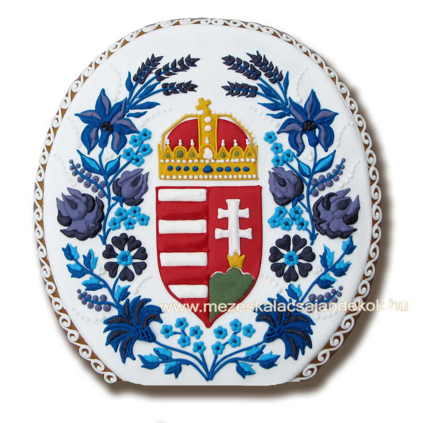 Hungarian Blazon Aniko Vargane Orban - Patriotic