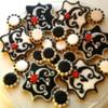 Decorative Monogram Plaque Cookies