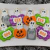 Halloween Ghost Cookies: By Mike at Semi Sweet