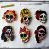 Day of Death Cookies: By Anna at Cookies Unleashed!
