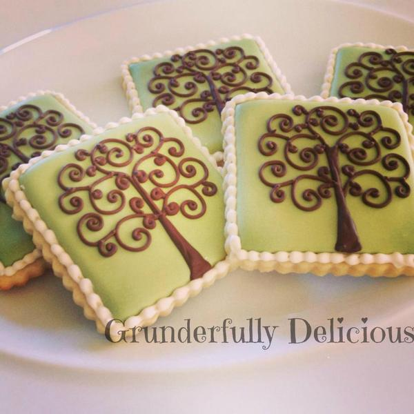 Swirly Trees Grunderfully Delicious - 3