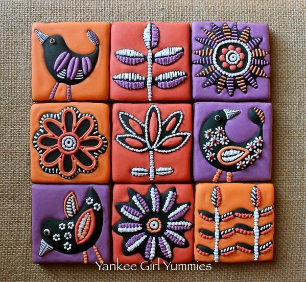 Fall Tile Set - Yankee Girl Yummies -5