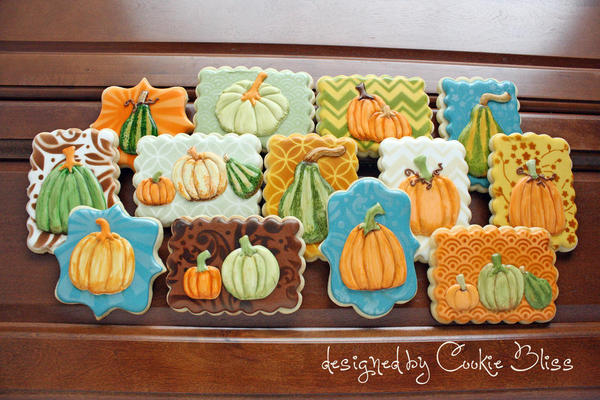 Pumpkins-Gourds Laurie Cookie Bliss - 7