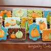 Pumpkins and Gourds: By Laurie at Cookie Bliss