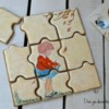 Vintage Puzzle: By I Love You Decorated Cookies