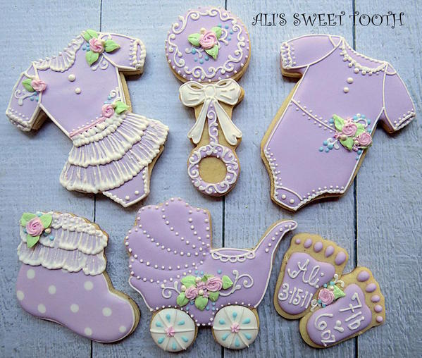 Baby Shower Cookies by Ali's Sweet Tooth - 3