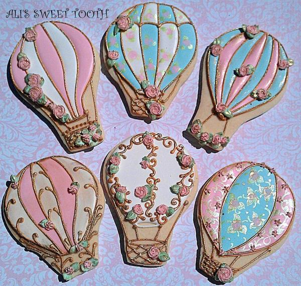 Shabby Chic Hot Air Balloons by Ali's Sweet Tooth - 6