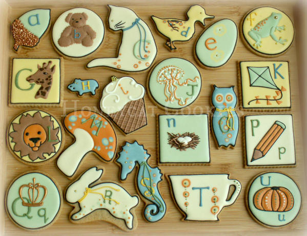 All the Alphabet by Lucy at Honeycat Cookies - 8