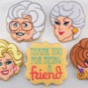 The Golden Girls Cookies: Cookies and Photo by Mike Tamplin