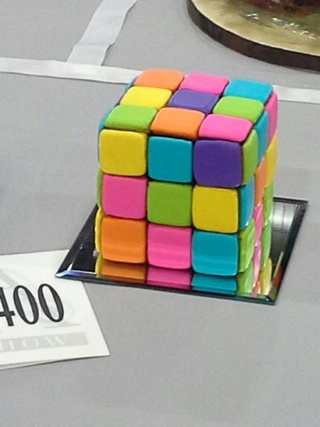 Rubix Cube Cookie Pic 1