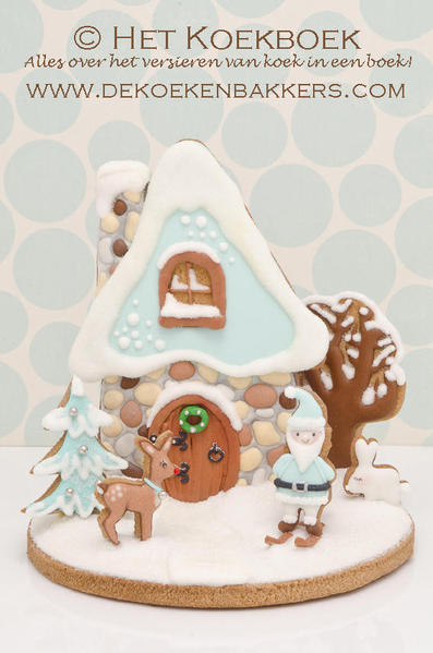 3D Winter Cookie Scene - DeKoekenbakkers - 1