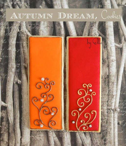Thanksgiving - Autumn Dream - One Cake a Day - 9