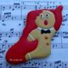 Gingerbread Man Stocking: By The Cookie Lab