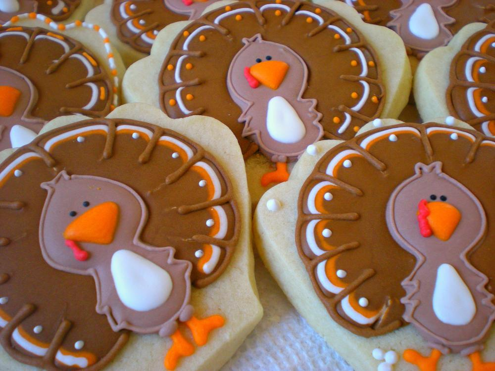 Thanksgiving Turkeys - Sugar by Julie -9